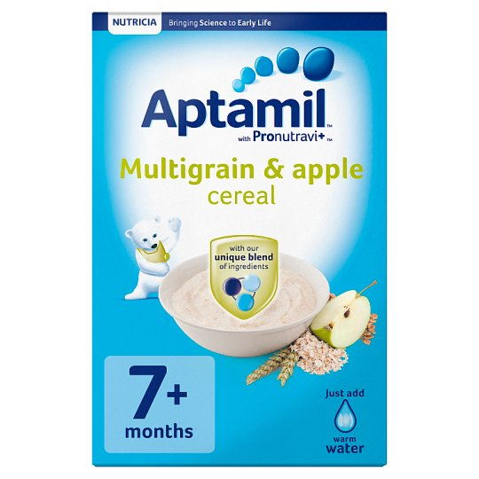 Aptamil Multigrain And Apple Cereal 200G 7 Month Plus