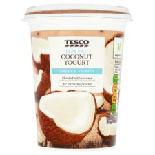 Tesco Low Fat Coconut Yogurt 450G