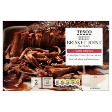 Tesco Beef Brisket With Gravy 380G