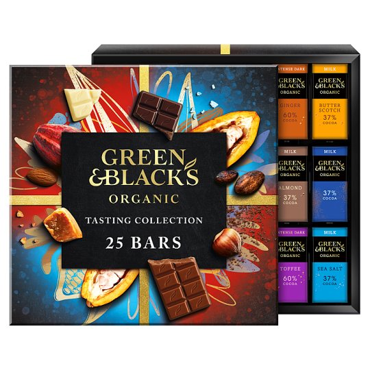 image 1 of Green & Blacks Organic Tasting Collection Boxed Chocolates 395G