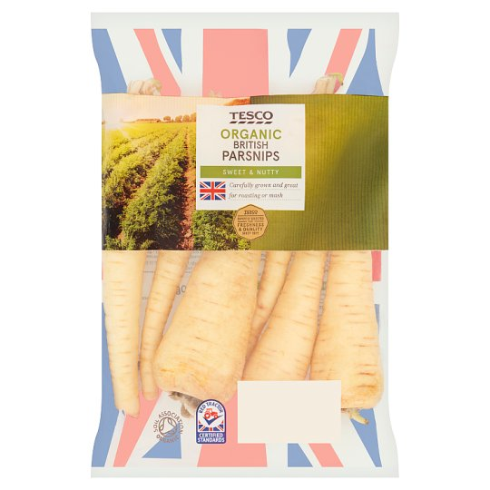 image 1 of Tesco Organic Parsnips 500G