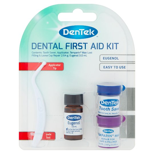 Dentek dental first aid toothache kit tesco groceries dentek dental first aid toothache kit solutioingenieria Choice Image