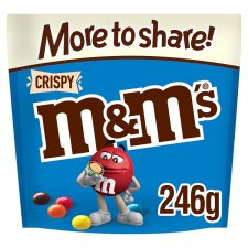 image 1 of M&M Crispy More To Share Chocolate Pouch 246G