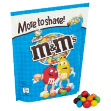 image 2 of M&M Crispy More To Share Chocolate Pouch 246G