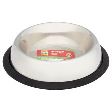 Good Girl Shades Of Steel Non Slip Cat Bowl