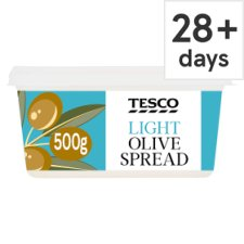 Tesco Light Olive Spread 500G