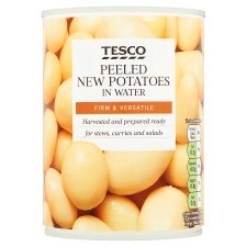 Tesco New Potatoes In Water Tinned 567G