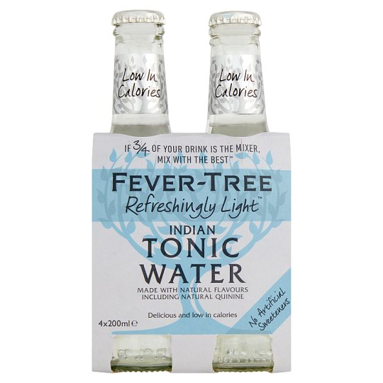 Fever Tree Light Tonic Water 4X200ml