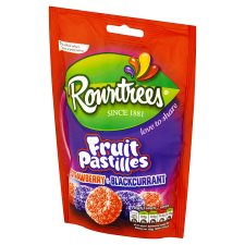 image 2 of Rowntrees Fruit Pastilles Red&Black Pouch 150G