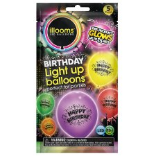 Iloom Balloon Happy Birthday Mixed 5 Pack