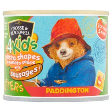 Crosse And Blackwell 4Kids Pasta And Sausages Letters Paddington 213G