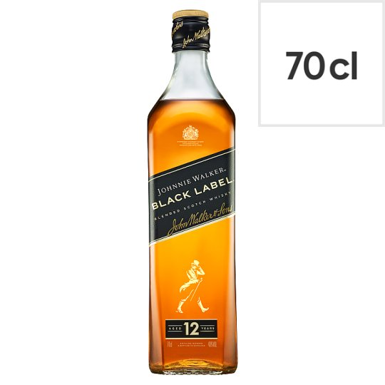 image 1 of Johnnie Walker Black Label Whisky 70Cl