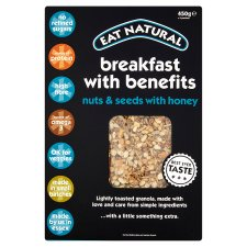 Eat Natural Breakfast Benefits Granola 450G