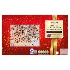 Tesco Basted Turkey Joint with Black Pepper 1.1kg, Serves 6