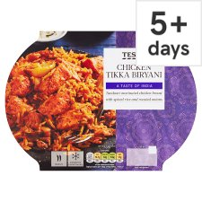 Tesco Indian Kitchen Chicken Tikka Biryani 400G
