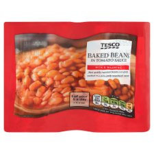 image 1 of Tesco Baked Beans In Tomato Sauce 4 X420g