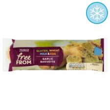 Tesco Free From Garlic Baguette 170G