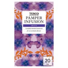 Tesco Pamper Infusion 20 Tea Bags 40G
