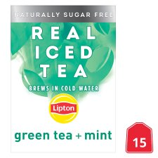 Lipton Cold Brew Green Tea Mint 15'S 27G