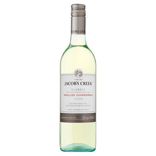 Jacob's Creek Semillon Chardonnay 75Cl