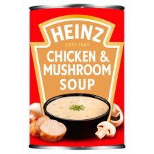 Heinz Cream Of Chicken And Mushroom Soup 400G