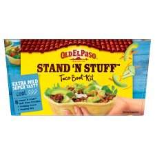 Old El Paso Extra Mild Stand 'N' Stuff Soft Taco Kit 329G