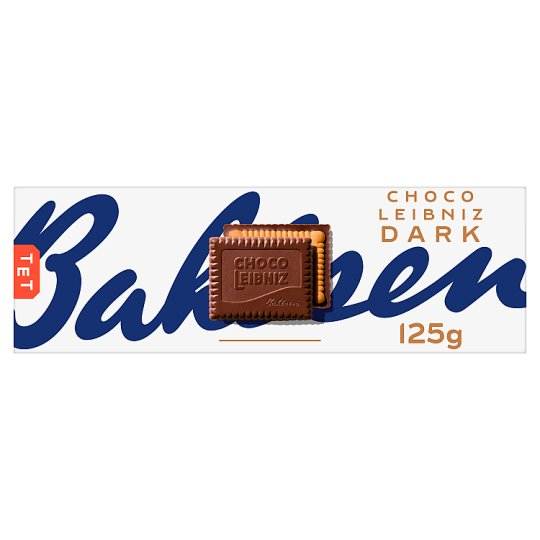 Bahlsen Dark Chocolate Leibniz Biscuit 125G