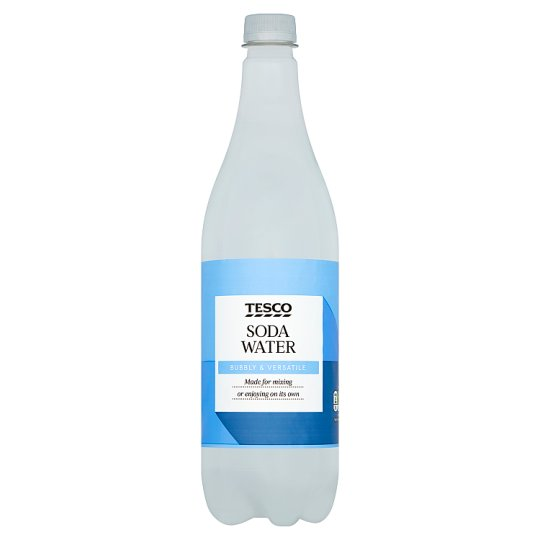 Tesco Soda Water 1Litre