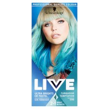 Schwarzkopf Live Ultra Brights 096 Turquoise Hair Dye