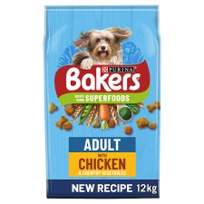 image 1 of Bakers Adult Chicken And Vegetable 12Kg