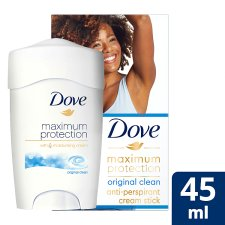 Dove Maximum Protection Original Clean Cream Antiperspirant Deodorant 45Ml