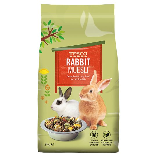 Tesco Rabbit Food Muesli 2Kg