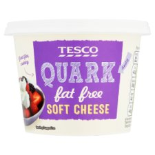 Tesco Quark Fat Free Soft Cheese 250G