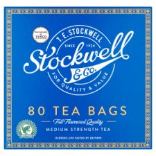 Stockwell And Co 80 Tea Bags 200G