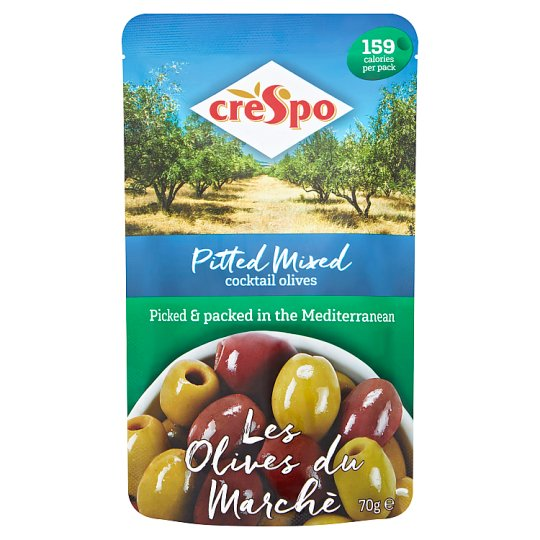 Crespo Mixed Cocktail Olives 70G