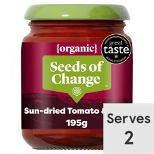Seeds Of Change Organic Sun Dried Tomato Stir/Serve 195G