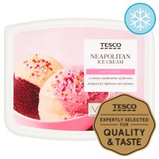 Tesco Soft Scoop Neapolitan 2 Litres