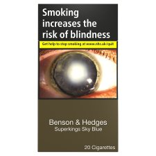 Benson And Hedges Sky Blue Superkings 20 Pack