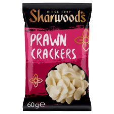 Sharwoods Ready To Eat Prawn Crackers 60G