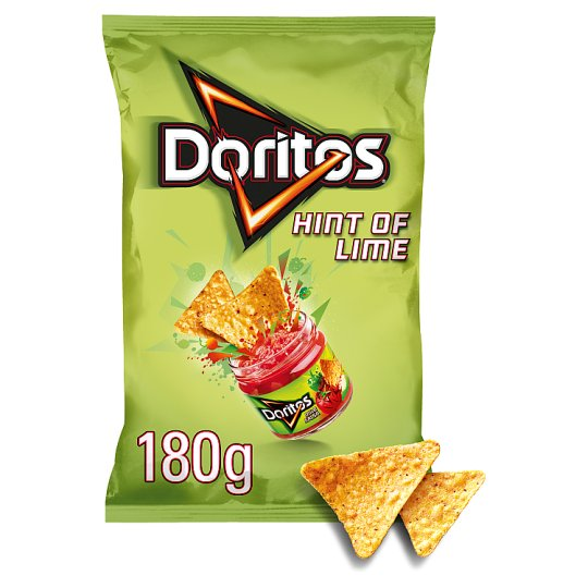 Doritos Hint Of Lime 180G