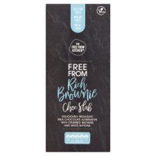 The Free From Kitchen Co. Rich Brownie Chocolate Slab 100G