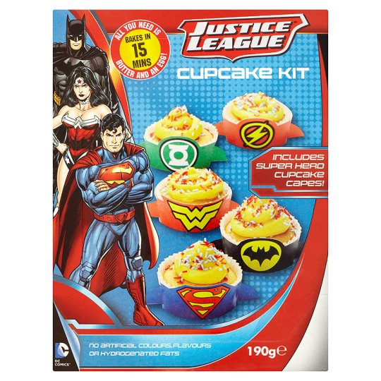 Dc Justice League Cupcake Kit 190G