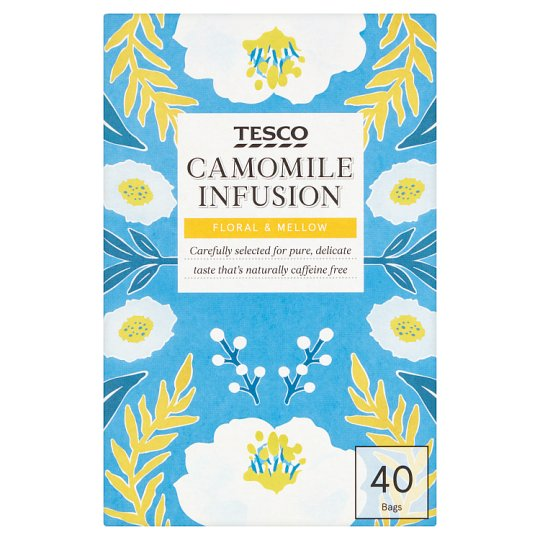 Tesco Camomile Infusion 40 Bags 60G