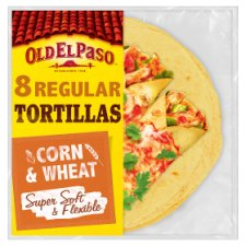Old El Paso Soft Corn Tortillas X8 335G
