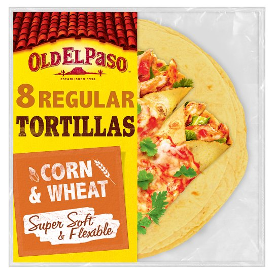 image 1 of Old El Paso Soft Corn Tortillas X8 335G