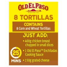 image 2 of Old El Paso Soft Corn Tortillas X8 335G
