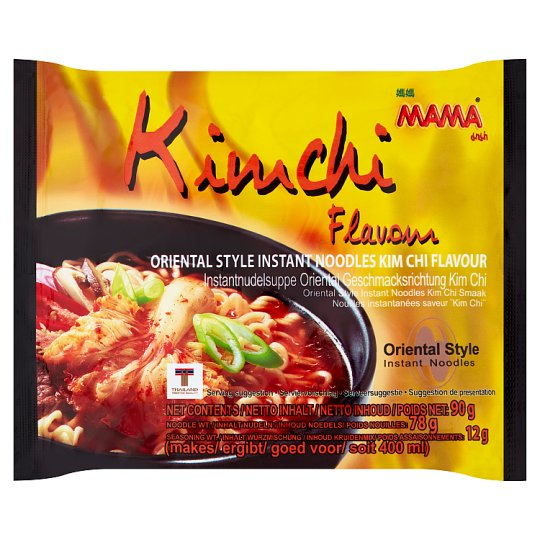 Mama Kimchi Instant Noodles 90G