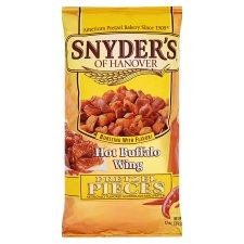 Snyders Hot Buffalo Wing Pretzels 340.2G