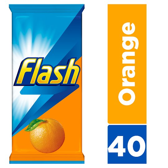 Flash Cleaning Wipes Wipe And Go 40 Pack