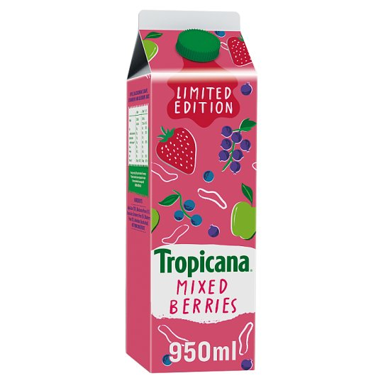 Tropicana Apple And Strawberry Juice 950Ml